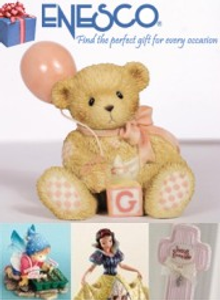 Picture of collectible gifts from Enesco Collectibles catalog