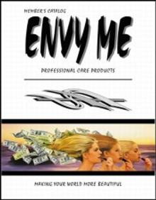 Picture of mineral cosmetics from Envy Me catalog