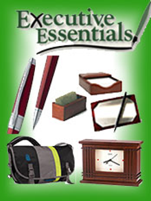 Picture of fine writing pens from Executive Essentials catalog