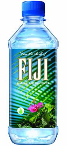 Picture of FIJI water from FIJI Water catalog