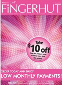 Picture of Fingerhut catalog from Fingerhut catalog