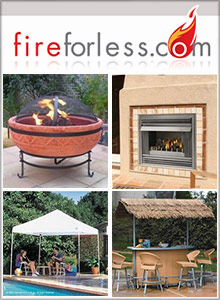 Picture of outdoor accessories from Fire For Less catalog