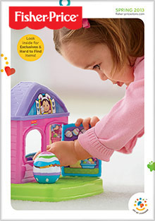 Picture of fisher price catalog from Fisher Price catalog