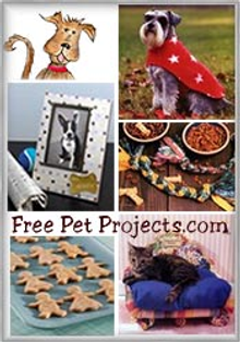 Picture of pet crafts from Free Pet Projects catalog