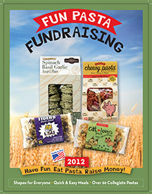 Picture of fundraising products from Fun Pasta Fundraising catalog