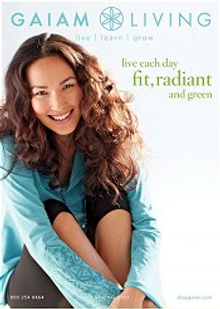 Picture of Gaiam catalog from Gaiam catalog