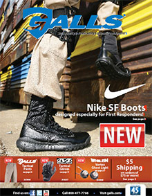 Picture of public safety equipment from Galls - Public Safety Equipment & Apparel catalog