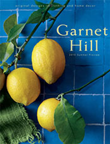 Picture of Garnet Hill bedding from Garnet Hill Home catalog