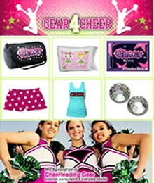 Picture of cheerleading apparel and accessories from Gear 4 Cheer catalog