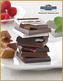 Picture of Ghirardelli Chocolate Company from Ghirardelli Chocolate catalog