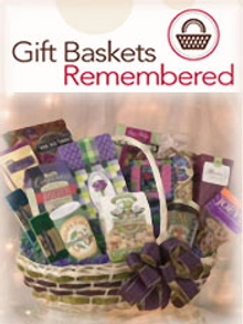 Picture of adorable gift baskets from Gift Baskets Remembered catalog