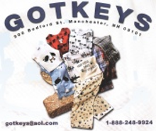 Picture of mens pajamas from  Gotkeys Lounge Wear catalog