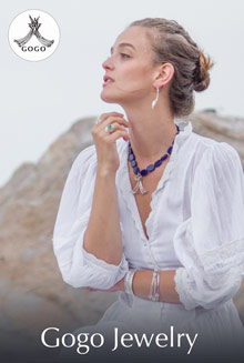 Picture of nature inspired jewelry from Gogo Jewelry catalog