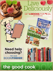 Picture of cookbook clubs from The Good Cook catalog