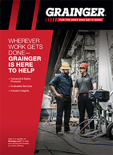 Picture of industrial supply from Grainger Commercial catalog