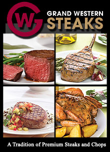 Picture of grass fed meat from Grand Western Steaks - OLD catalog