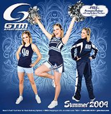 Picture of cheerleading and dance uniforms from Cheerleading by GTM Sportswear catalog