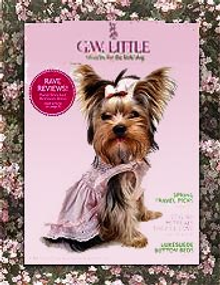 Picture of trendy pet fashions from GW Little catalog