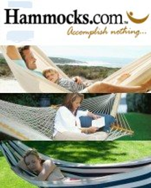 Picture of folding hammock from Hammocks.com catalog