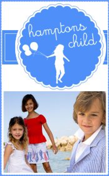 Picture of kids clothes catalog from Hamptons Child catalog