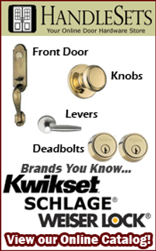 Picture of reproduction door hardware from Handlesets.com catalog
