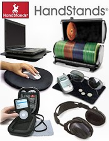 Picture of electronics accessories from HandStands catalog