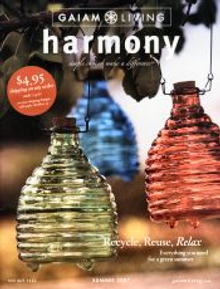 Picture of Harmony catalog from Gaiam - Harmony catalog