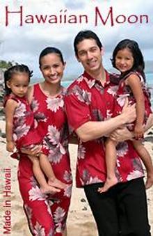 Picture of Hawaiian clothing from Hawaiian Moon Clothing Company catalog