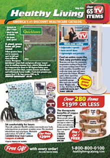 Picture of healthy living catalog from Healthy Living - AmeriMark Direct catalog