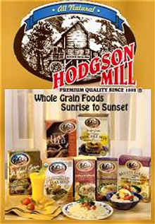 Picture of gluten free foods from Hodgson Mill catalog