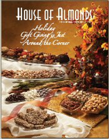 Picture of almonds from House of Almonds catalog