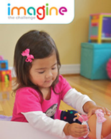 Picture of award winning toys from Imagine Toys catalog