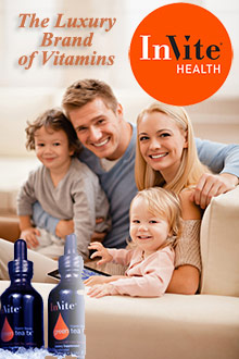 Picture of supplement and diet from Invite Health catalog