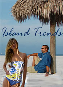 Picture of island fashion from Island Trends catalog