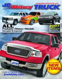 Picture of truck accessories from JC Whitney catalog