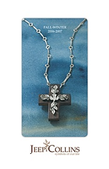 Picture of spiritual jewelry from Jeep Collins Jewelry catalog