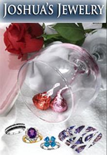 Picture of unique diamond jewelry from Joshua's Jewelry catalog