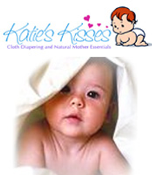 Picture of cloth diapers from Katie's Kisses catalog