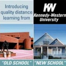Picture of distance learning degree program  from Kennedy-Western University catalog