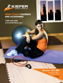 Picture of athletic flooring  from Kiefer Specialty Flooring catalog