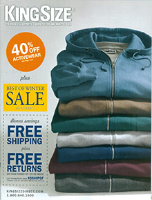 Picture of Shop big and tall online from King Size catalog