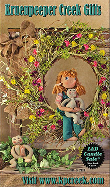 Picture of rustic home décor from Kruenpeeper Creek  catalog