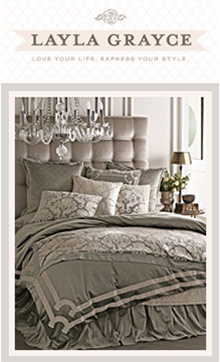 Picture of home decor and furniture from Layla Grayce catalog