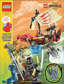 Picture of LEGO catalog from LEGO catalog