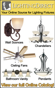 Picture of halogen lighting fixtures from LightingDirect.com catalog