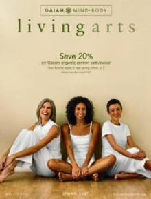 Picture of comfortable women's clothes from Gaiam - Living Arts catalog