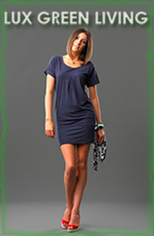 Picture of sustainable fashion from Lux Green Living - Luxurious Organic Fashion catalog