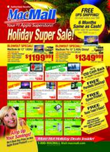 Picture of computer catalog from MacMall catalog