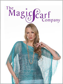 Picture of magic scarf company from The Magic Scarf Company catalog