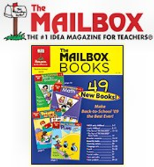 Picture of mailbox books from The Mailbox Books catalog